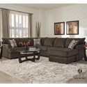Albany 8622 2-Piece Sectional - Item Number: 8622-2PC-GENS-19816