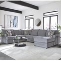 Albany 8622 2-Piece Sectional - Item Number: 8622-2PC-GENS-19892