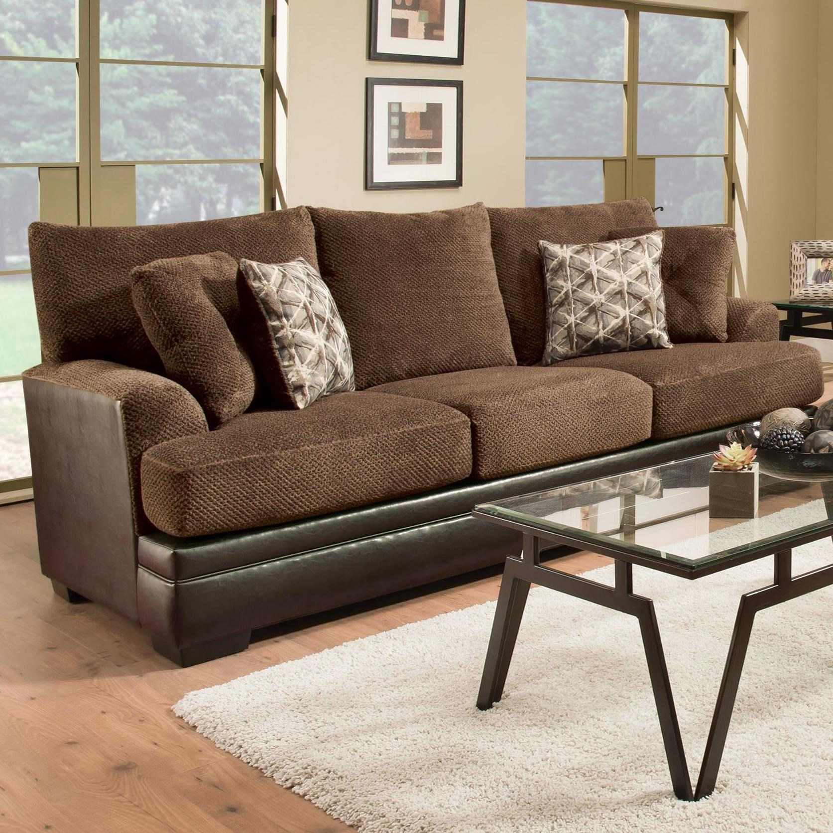Albany 8640 Sofa - Item Number: 8640-00-GENS-34118