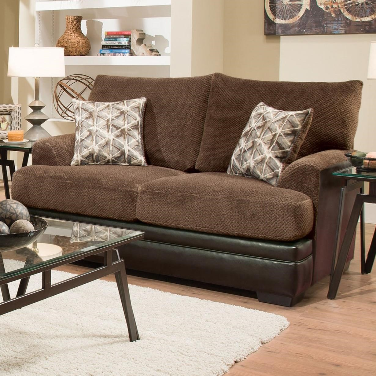 Albany 8640 Loveseat - Item Number: 8640-10-GENS-34118