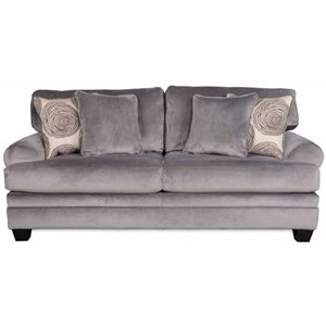 Albany 8642 Transitional Stationary Sofa