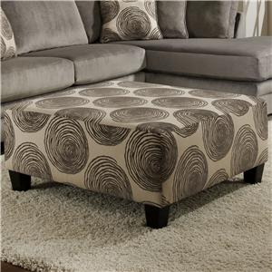 Albany 8642 Oversized Cocktail Ottoman