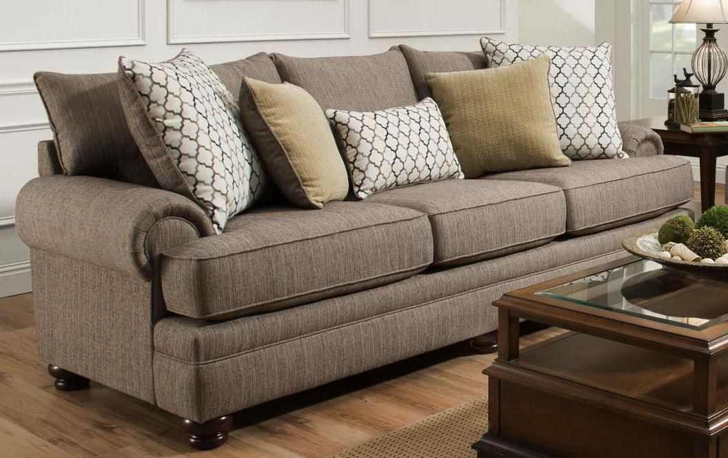 Albany Essence Pewter Sofa - Item Number: 8645-00-GENS-49692