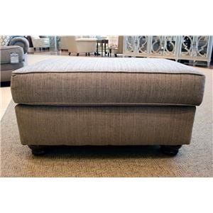 Albany Essence Pewter Ottoman