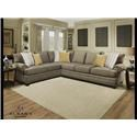 Albany Essence Essence 2 Piece Sectional - Item Number: GRP-8645-SECTIONAL