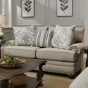 Albany 8647 Traditional Loveseat - Item Number: 8647-10-GENS-27512