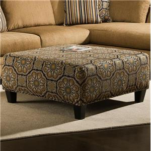 Albany 8648 Collection Casual Cocktail Ottoman