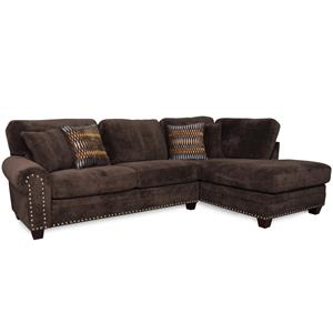 Albany 8648 Collection Casual Sectional