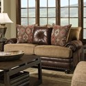 Albany 8649 Traditional Loveseat - Item Number: 8649-10-GENS-22918