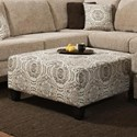 Albany 8658 Cocktail Ottoman - Item Number: 8658-32-GENS-56518