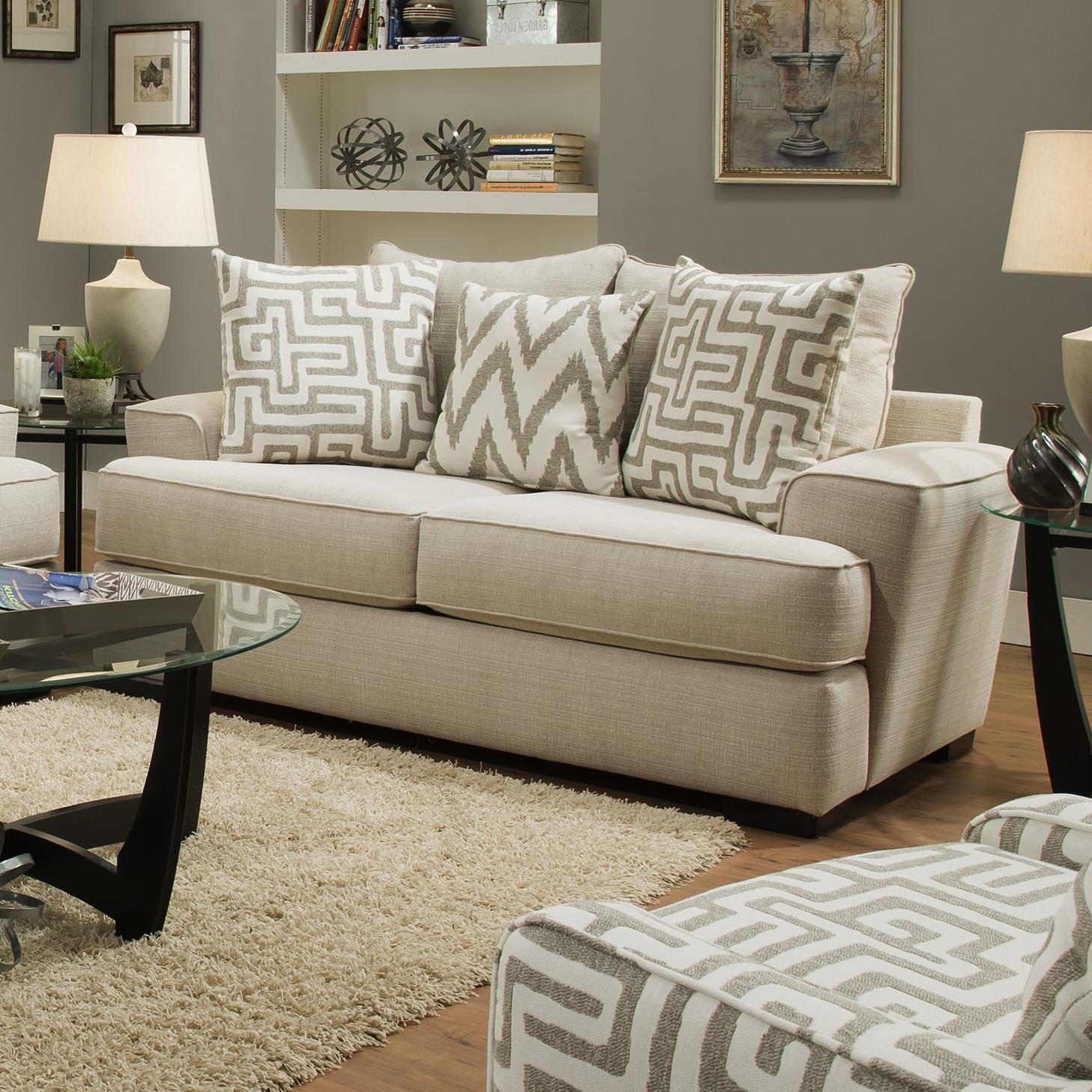 Albany 8686 Loveseat - Item Number: 8686-10-GENS-20612