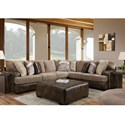 Albany 8782 Casual Sectional - Item Number: 8782-2PC-GENS-31514