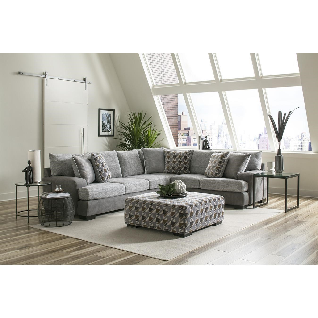 8784 Sectional Sofa by Albany at A1 Furniture & Mattress