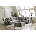 Albany 8784 Sectional Sofa - Item Number: 8784-2PC-GENS-34492
