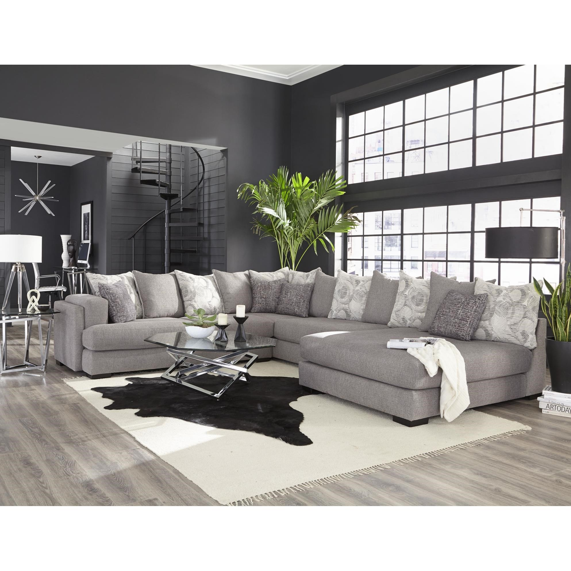 880 Sectional Sofa by Albany at A1 Furniture & Mattress