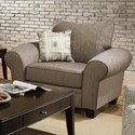 Albany 911 Upholstered Chair - Item Number: 0911-20-Essence Pewter
