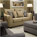 Albany 957 Loveseat - Item Number: 957-10-GENS-RACONTEUR-CAMEL