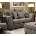 Albany 957 Loveseat - Item Number: 957-10-GENS-RACONTEUR-STONE