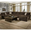 Albany 968 3 Pc Sectional - Item Number: 968-3PC-GENS-22518