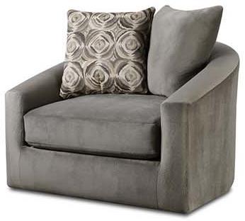 Albany 977 Swivel Chair - Item Number: 977-27-ArgosSmoke