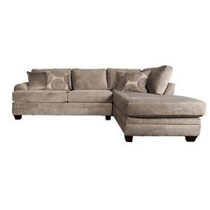 Morris Home Furnishings Agustus - Agustus 2-Piece Sectional
