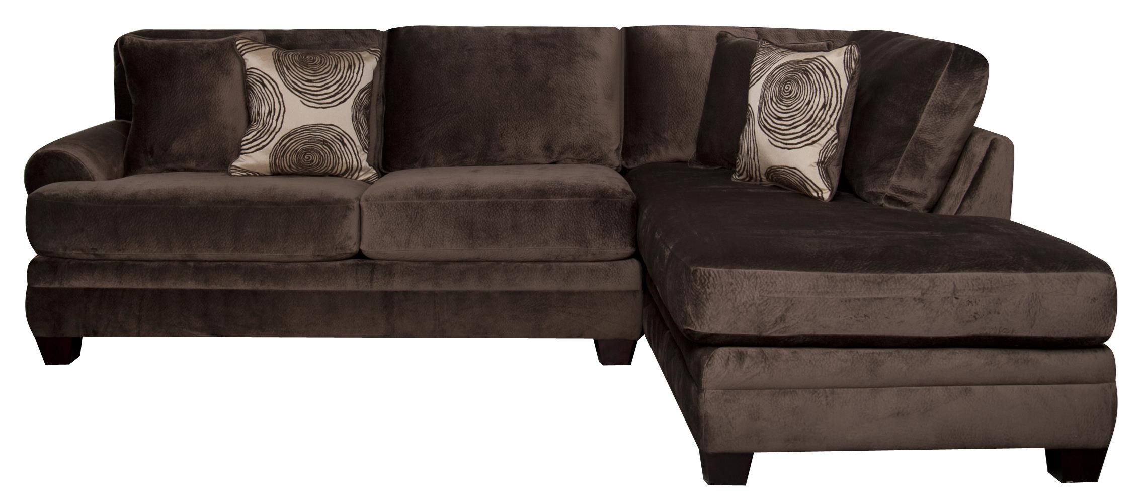 Morris Home Furnishings Agustus Agustus 2-Piece Sectional - Item Number: 117898356