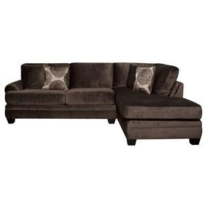 Morris Home Furnishings Agustus Agustus 2-Piece Sectional