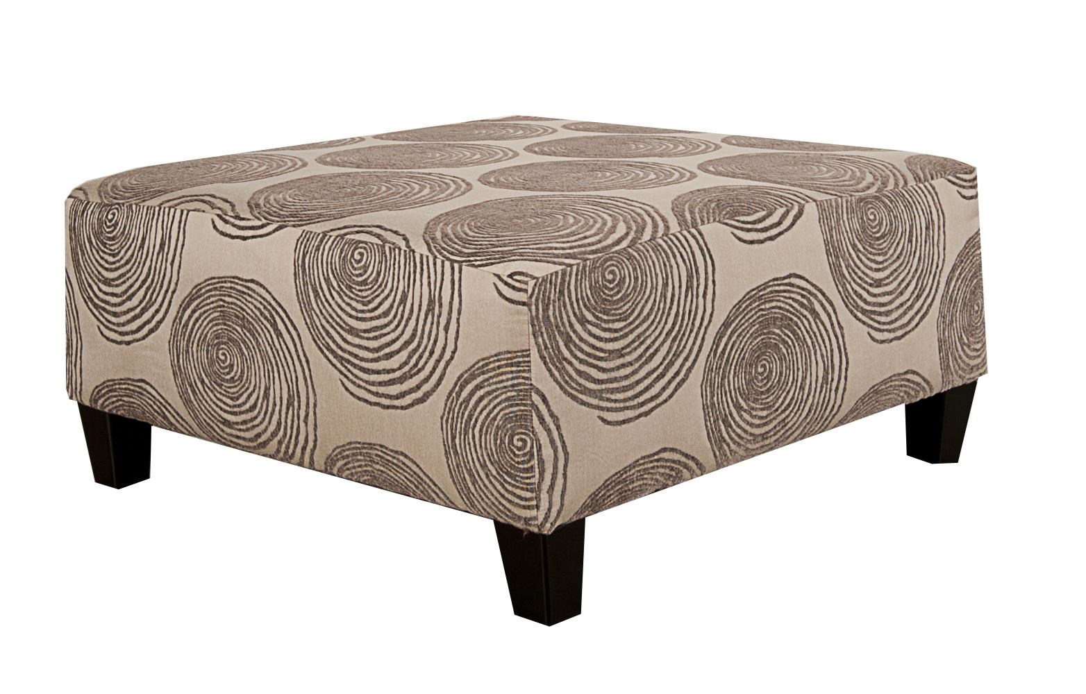 Morris Home Furnishings Agustus Agustus Ottoman - Item Number: 324113317