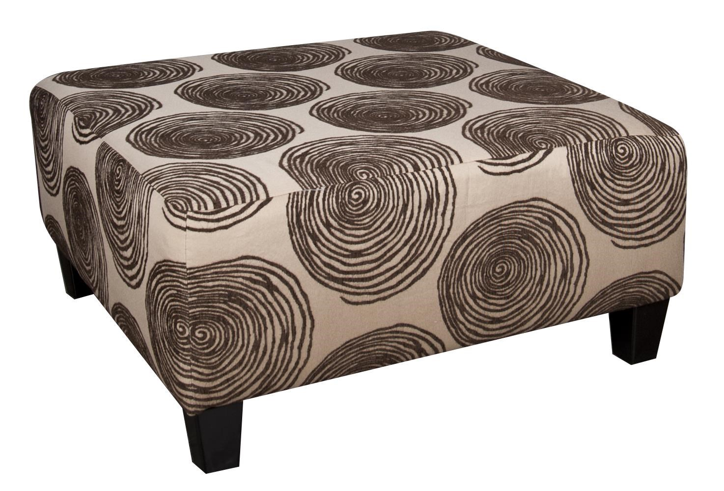 Morris Home Furnishings Agustus Agustus Ottoman - Item Number: 662383809