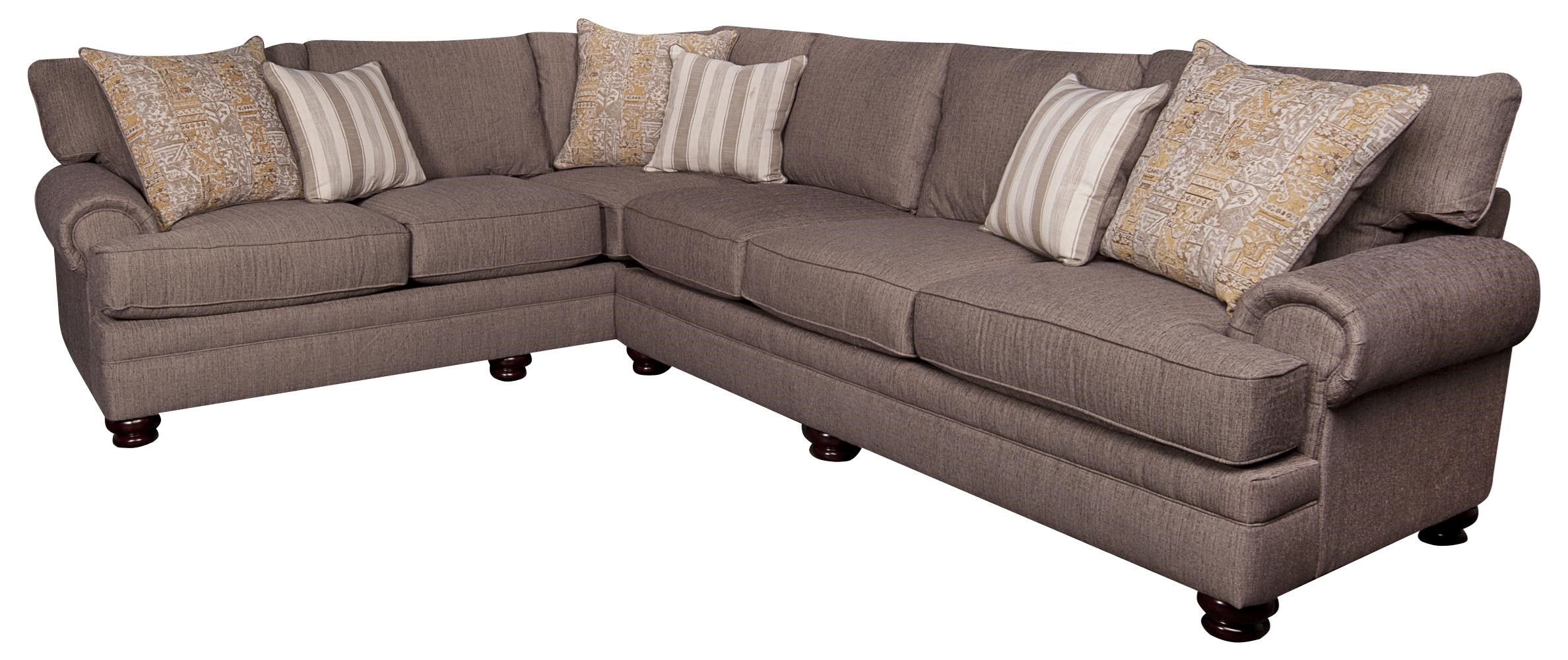 Morris Home Furnishings Cosette Cosette 2-Piece Sectional - Item Number: 134267445