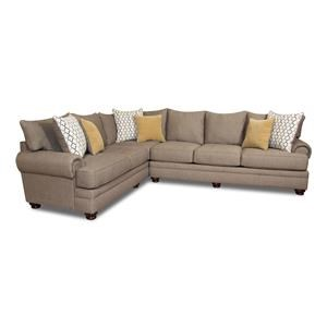 Morris Home Furnishings Cosette Cosette 2-Piece Sectional