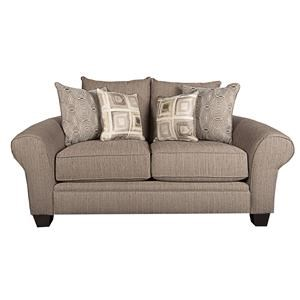 Morris Home Furnishings Johnna Johnna Loveseat