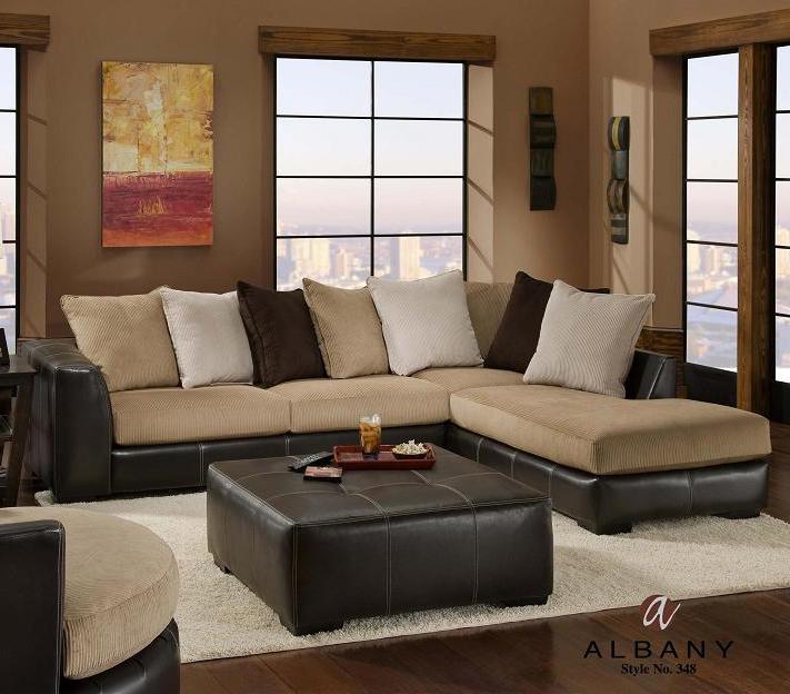 albany 348 san marino 3 piece stationary raf chaise sectional sofa rh a1furniture com