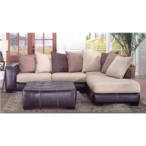 Albany 348 Laredo 2 Piece Sectional With RAF Chaise