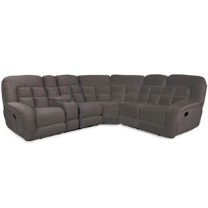 Albany P1808 Casual Reclining Sectional