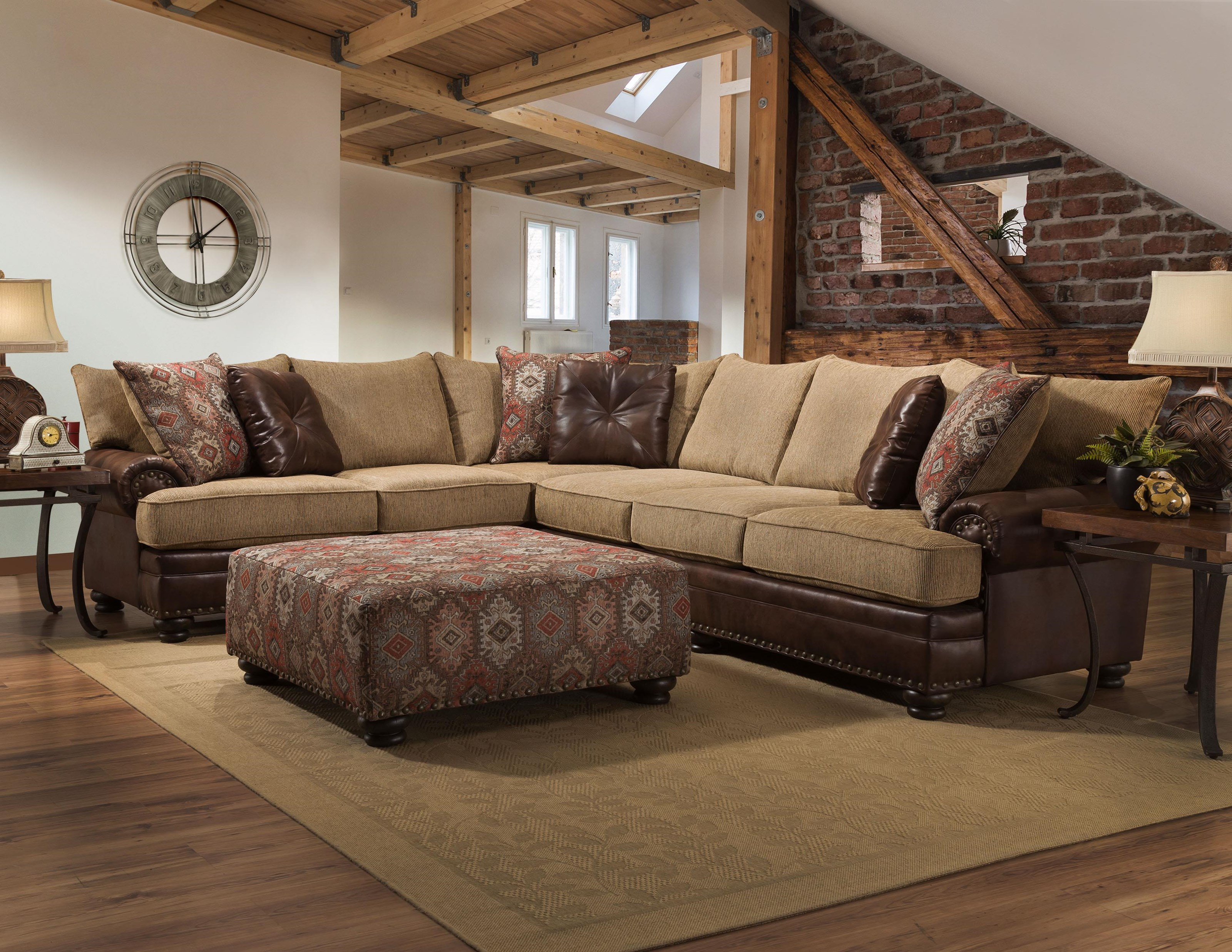 Albany Sublime Treasure 2 Piece Sectional Royal