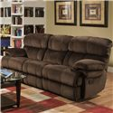 Albany X1800 Casual Power Reclining Sofa - Item Number: P1800-01-GENC-GroovyChocolate