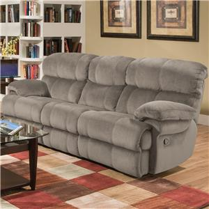 Albany X1800 Casual Reclining Sofa