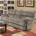 Albany X1800 Casual Reclining Sofa - Item Number: X1800-01-GENC-GroovySmoke