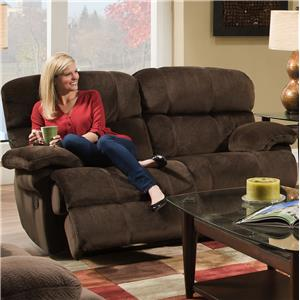 Albany X1800 Casual Reclining Loveseat