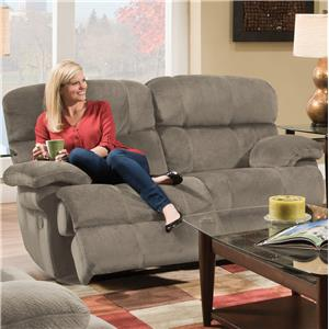 Albany X1800 Casual Power Reclining Loveseat