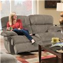 Albany X1800 Casual Power Reclining Loveseat - Item Number: P1800-11-GENC-GroovySmoke