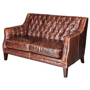 Belfort Leather London Settee