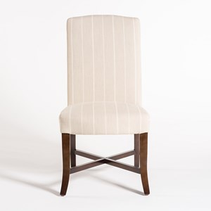 Belfort Leather Mercer Dining Chair