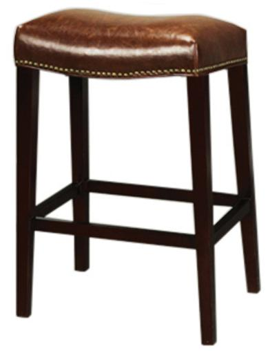 Belfort Leather AT00 Bar Stool - Item Number: AT007B-AS