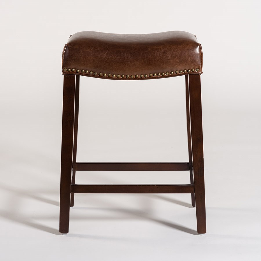 Belfort Leather AT00 Bar Stool - Item Number: AT007B-AS