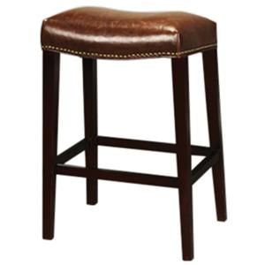 Belfort Leather AT00 Bar Stool