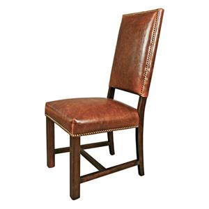 Belfort Leather Weston Dining Room Side Chair
