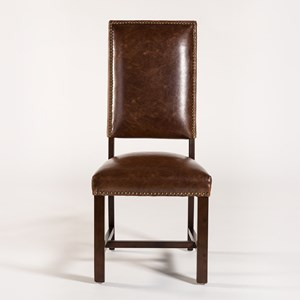 Belfort Leather Weston Bar Stool With Antique Like Leather