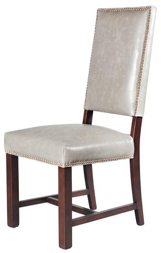 Belfort Leather Weston Dining Side Chair - Item Number: AT552-LF